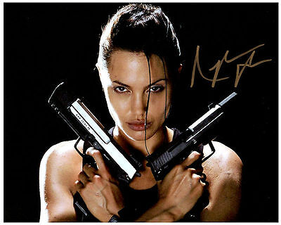 ANGELINA JOLIE  Authentic Signed Autographed 8X10 Photo w/ COA - Photo 4