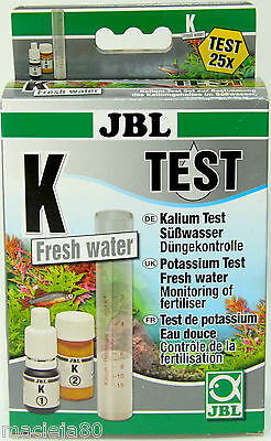 JBL K  Potassium Test Fresh Water,  Monitoring of fertiliser