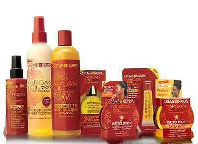 CREME OF NATURE with ARGAN OIL from MOROCCO FULL RANGE ALL PRODUCTS