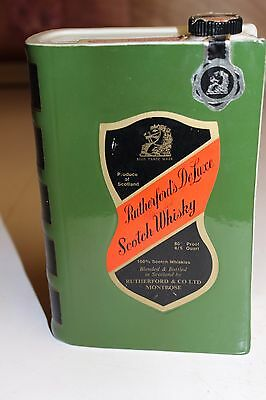 Spirit of Scotland Vol II Rutherford's Scotch Whiskey Liquor Bottle Book