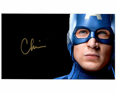 CHRIS EVANS  Authentic Signed Autographed 8X10 Photo w/ COA - Photo 3