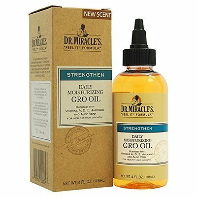 Dr.Miracle's Daily Moisturizing Gro Oil
