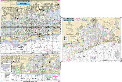 Fishing Map Jamaica and Hempstead Bays, NY JH113-BC N. Atlantic