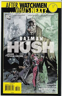 Batman #608 Hush Special Edition NM (2009) Reprints #608