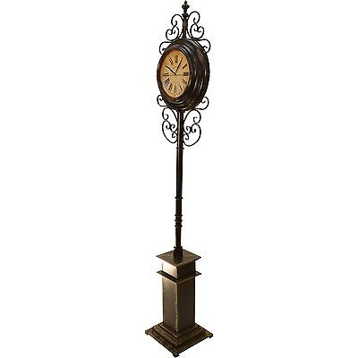 Grand Station Two Sided  Floor Clock by Kotulas Brand New