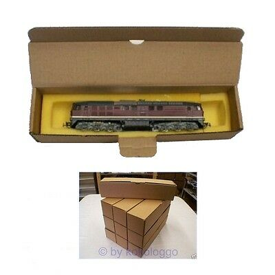 K1 Boxes 10 x Packaging for Locomotives and Wagons! NEW