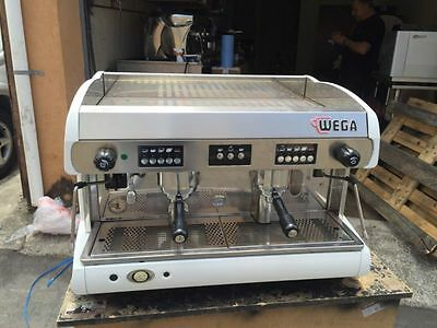 Cheap AS New Wega Polaris 2 Group Commercial Coffee Machine