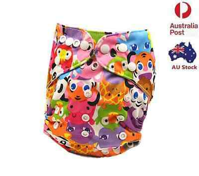 New Modern Cloth Nappies Baby MCN Nappy Diaper Reusable Pocket Nappies (D111)