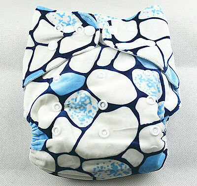 New Modern Cloth Nappies Baby MCN Diaper Nappy Minky Adjustable Reusable