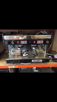 Two Group second hand commercial coffee machine