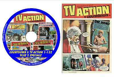 Countdown & TV Action 1-132 Plus 5 Specials on DVD + viewing software
