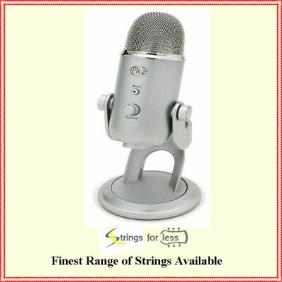 Blue Microphones Yeti All Purpose USB Recording Multi Pattern  Microphone