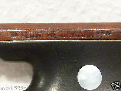 Private COLLECTION to SELL - 101: A good German VIOLIN BOW by *Edw.HERRMANN***