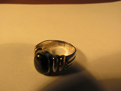 Vintage sterling silver man's ring.