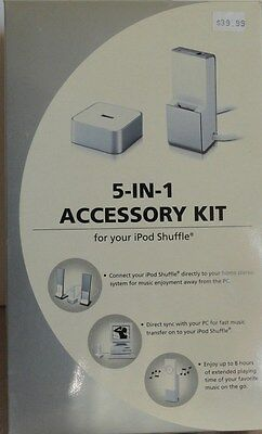 RadioShack 5-in-1 Accessory Kit for your iPod Shuffle NEW