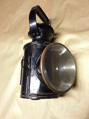 Authentic Antique Railway Lantern - Kerosene - Excellent British Railway Piece