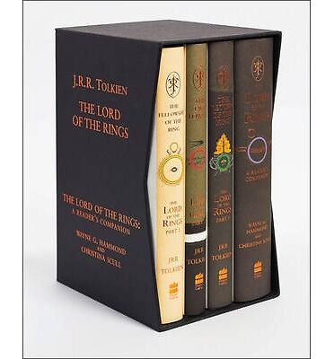 The Lord of the Rings Boxed Set - 60th Anniversary Edition (Hardback)