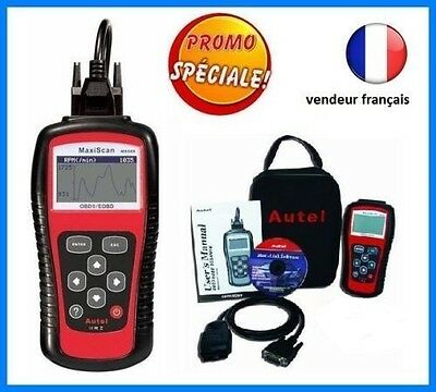 DIAGNOSTIQUE AUTEL MaxiScan MS509 - Multimarques OBD2 LECTURE DEFAUTS OBD