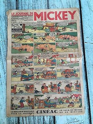 Le Journal de Mickey 9 issues from 1934, 1935 and 1936