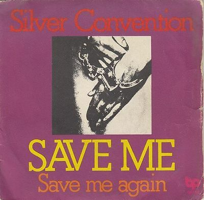 "SILVER CONVENTION - Save Me - r@re Spanish 7"" single 45 Spain 1975"