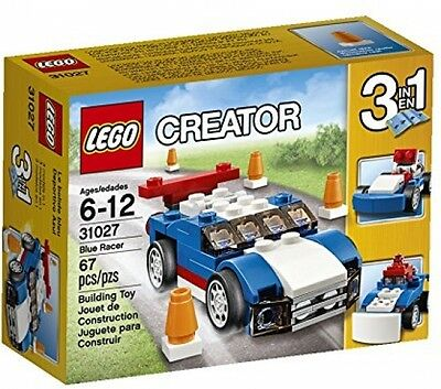 Lego Creator 6099981 Box Set 3-in-1Kids Model Blue Racer Building Play Toys Gift