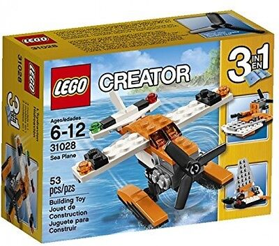 Brand New LEGO Creator 31028 Aircraft Vehicle Building Block Toys Sea Plane Set