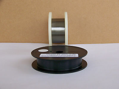 "Tungsten wire 0.0125  mm /0.0005 ""  -  3 m.  / 10  ft."