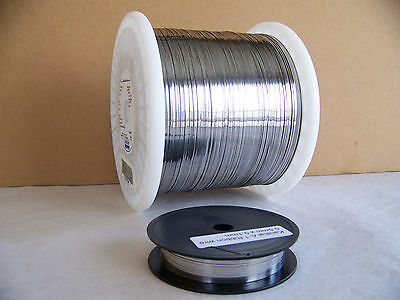 """Kanthal A-1  Ribbon resistance heating wire 0.5mm  X 0.1mm /.020"""" X .004""""  50 ft"""