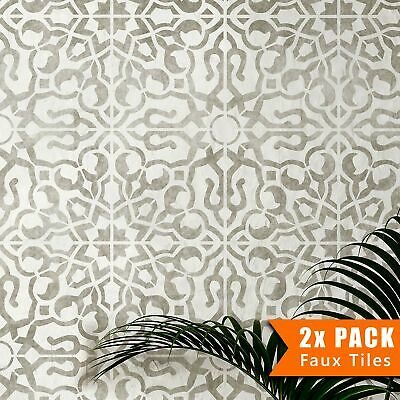 NADIA Moroccan Tile Stencil - Furniture Wall Floor Stencil for Painting
