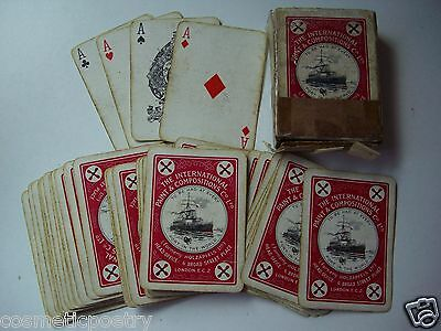 WW1 Era Playing Cards - The International Paint & Compositions Co Ltd London