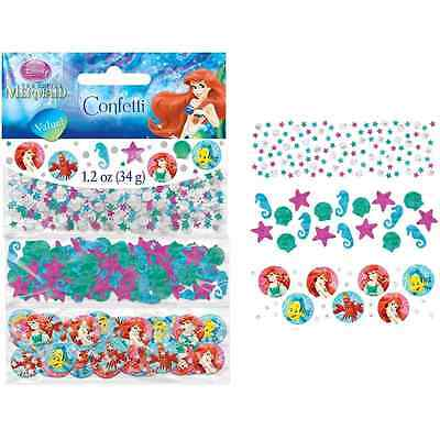Little Mermaid Ariel Disney Princess Birthday Party Decoration Confetti 3-Pack