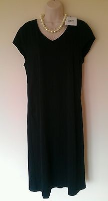 Ladies Mothercare Mamalicious black maternity dress sz XL NWT!