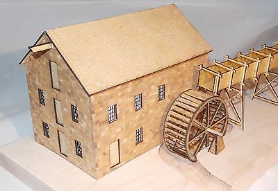S Scale Grist Mill Kit