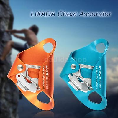 Chest Ascender Equipment for 8mm-13mm Rope Rock Climbing Caving Rescue New C3Y5