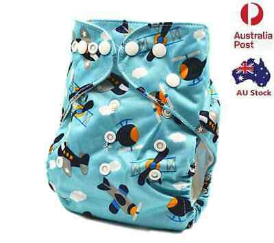 New Reusable Adjustable Modern Cloth Nappies Baby MCN Nappy Diaper Minky (M75)
