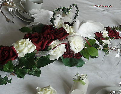 Altar arrangement,Table decoration,very precious! Bridal,Wedding,Silver wedding