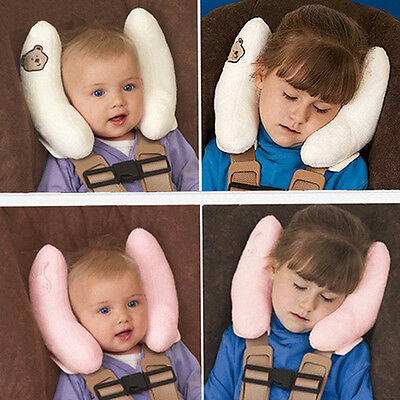 Baby Toddler Car Seat Headrest Cushion Travel Pillow Infant Head Neck Support