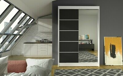 Furniture Home & Garden Modern Design Wardrobe Martinez High Quality 2sliding Doors Free Delivery