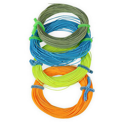 FL001 Nylon 30.5M Weight Forward Floating Fly Fishing String LINE NUMBER 4.0