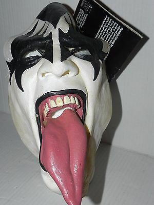 KISS Vintage 1997 Paper Magic Halloween Mask Gene Simmons W/ Tag 656432