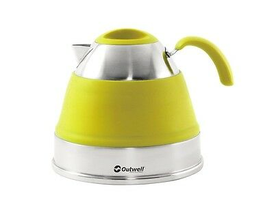 Outwell Collaps 2.5L Yellow Kettle - Collapsible & Large Capacity