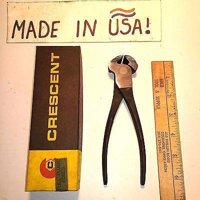 "72-6"" VINTAGE Crescent Tools End cutting Nippers- NOS Top Quality Precision Rare"