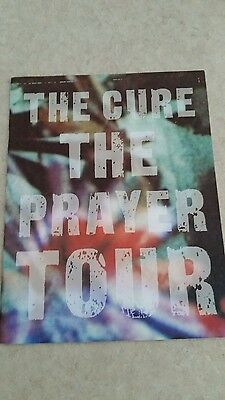 The cure tour program book