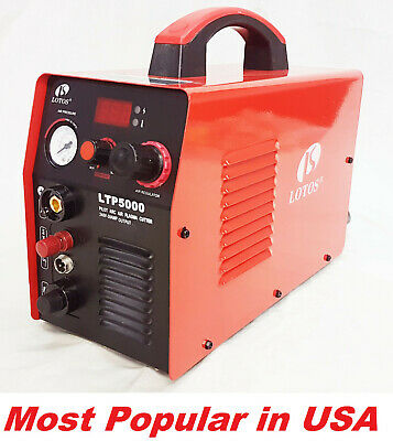 Lotos Plasma Cutter LTP5000  50amp 240V with  Pilot Arc Clean cut  up 16mm