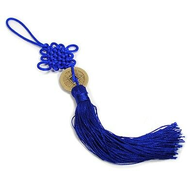 new feng shui fortune coin tassel red hanging peace chinese knot car decoration cad. Black Bedroom Furniture Sets. Home Design Ideas
