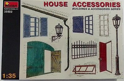 MiniArt - House Accessories  - 1/35 - 35502