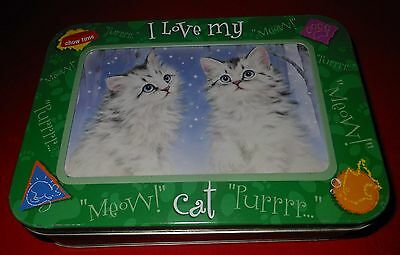 Cute Kittens Notecards & Envelopes Set with Collectible Tin Tree-Free Greetings