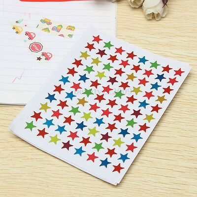 Funny 880Pcs/Lot Star Shape Stickers Labels For Kids Teacher Reward DIY Craft