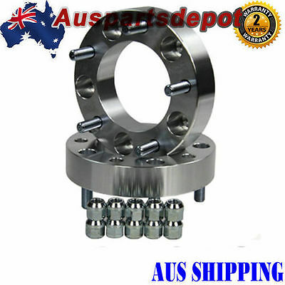 FOR Toyota Landcruiser 79 Series 38mm thick 2PCS 5 Studs Wheel hub Spacers