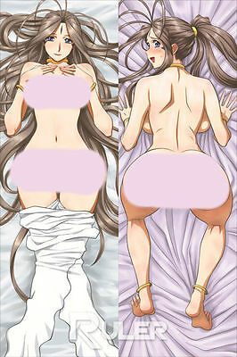 Anime Dakimakura Pillow Case Ah! My Goddess Belldandy WS002